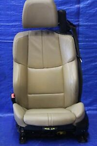 2011 11 Bmw M3 Convertible E93 Oem Tan Lh Driver Leather Front Seat S65 V8 1025