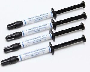 Quality 4 X 2g Prime Dental Blend Ultra Syringes Dentin Liner Protective Base