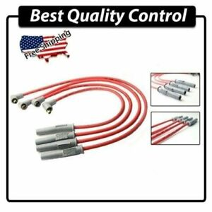 Msd Ignition Spark Plug Cable 8 5mm Wire 1997 2001 For Honda Crv B20b 2 0l