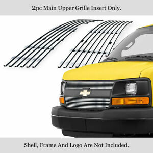 For 2003 2016 Chevy Express Explorer Conversion Van Stainless Billet Grille