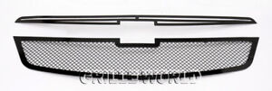 Ss 1 8mm Black Mesh Grille For 2011 2012 Chevy Cruze