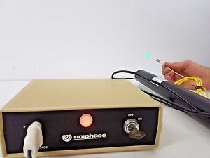 Uniphase 1676 Laser And Power Supply