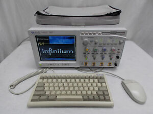 Hp Agilent Keysight 54825a Infinium Oscilloscope 500mhz Loaded With Options