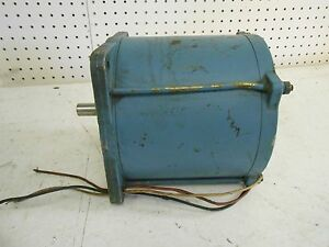 Slo syn Explosion Proof Electric Motor Type X1000 72 Rpm Shft 1 5 8 X 5 8