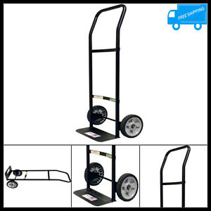 300 Lb Capacity Light Duty Hand Truck 2 Wheel Dolly Moving Cart Trolley Metal