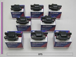 Set Of 8 New A c Delco Ignition Coil D510c uf413 12570616 bsc1511