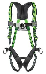 Miller Acf tbd Green Harness With Front And Side D Rings