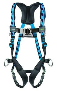 Miller Acf tbd Blue Harness With Front And Side D Rings