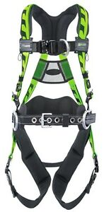Miller Aaf qcbdp Green Harness With 4 D Rings And Removable Belt
