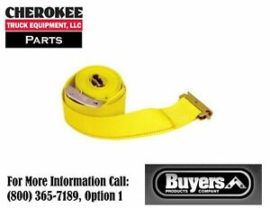 Buyers Products 01075 2 X 12 Ratchet Strap W E Track Fitting