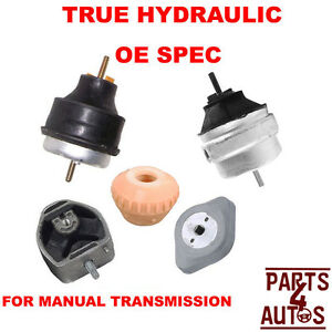 Hydraulic Audi A4 Vw Passat Manual Trans Mount And Motor Mount Kit Left