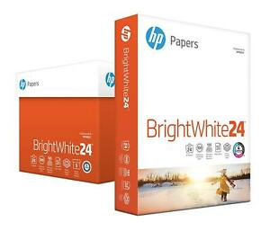 Hp Paper Bright White Inkjet Poly Wrap 24lb 8 X 11 Letter 97 Bright 2500 S