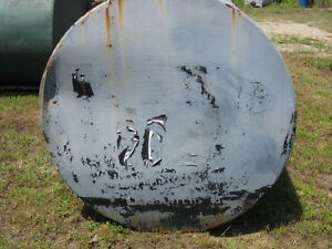 5500 Gallon Steel Single Wall Horizontal Fuel Storage Tank