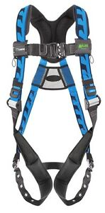 Miller Aca tb Blue Harness With Back D ring And Aluminum Hardware