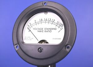 Jewell Vswr Meter Dc Ammeter 0 200ma 3 5 Dial P n 214 38
