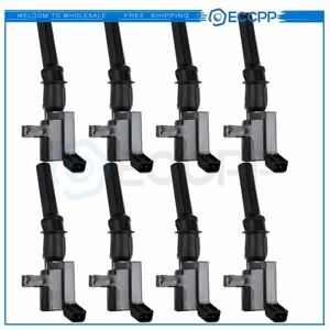 For Ford 4 6l 5 4 Liter 8 Ignition Coil Pack Set Complete Dg508 Fd503 C409 New