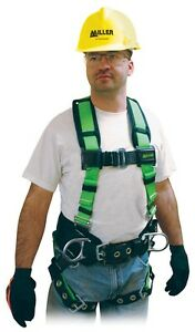 Miller 650cn bpdp Non Stretch Harness With Side D Rings