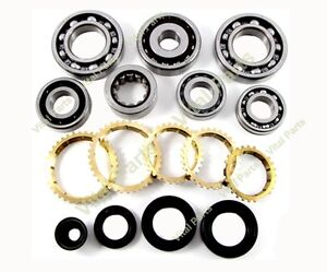 Honda Civic Del Sol Vtec Manual Transmission Rebuild Kit 1 6l S20 S40 Sg8