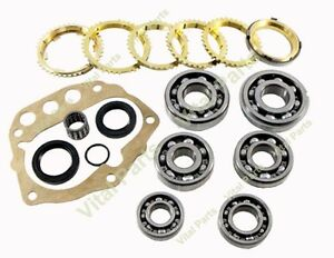 Fits Nissan Frontier 5spd Transmission Rebuild Kit With Synchros Fs5w71c 1998 On