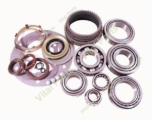 Ford Zf S6 650 6 Speed Manual Transmission Rebuild Kit With Synchros 1998 On