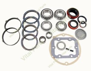 Dodge Nv4500 Manual Transmission Rebuild Kit 1992 Up 5 Spd Trucks With Synchros