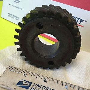 Studebaker Crankshaft Gear Used No Pn Item 4536