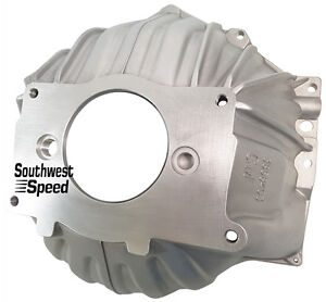 New Chevy Aluminum Bellhousing 3858403 Replacement sbc bbc 10 1 2 Manual gm oem
