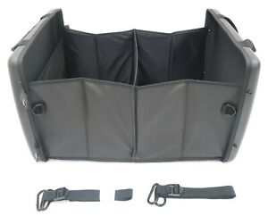 20992615 Cadillac Oem Black Trunk Collapsible Cargo Organizer W logo New
