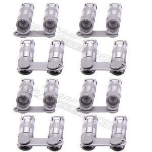 16 Hydraulic Roller Link Bar Lifters For Small Block Chevy Sbc 350 265 400