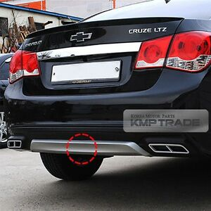 Body Kit Parts Two Tone Rear Bumper Skid Diffuser For Chevrolet 2013 2014 Cruze