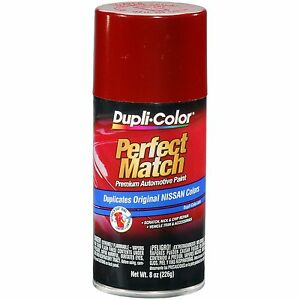 Duplicolor Bns0570 For Nissan Code Ah3 Cherry Red 8 Oz Aerosol Spray Paint