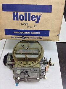 Nos Holley 2300 Carburetor R6986 1 1973 American Motors 304 360 Engine