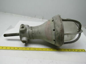 Crouse Hinds Vintage Electric Light Fixture For Hazardous Locations 9 Dia