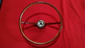 1966 Ford Galaxie Xl Ltd Steering Wheel 352 390 V8