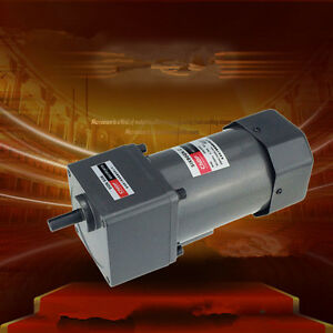 110 220 380v Ac Vertical Micro Gear Motor 90w 5ik90gn Constant Speed High Torque