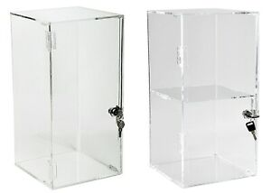 Locking Doll Case Collectible Case Acrylic Display Case Free Ship Usa