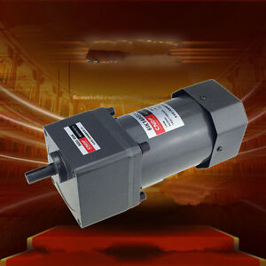 220v 380v Ac Gear Motor Speed 140w 6ik140gu Constant Speed High Torque