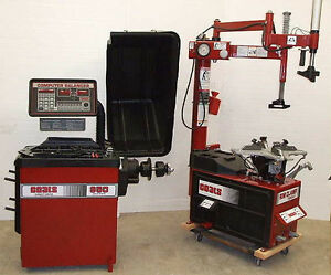 Remanufactured Coats 7060ax Tire Changer 950 1000 Balancer With Warranty