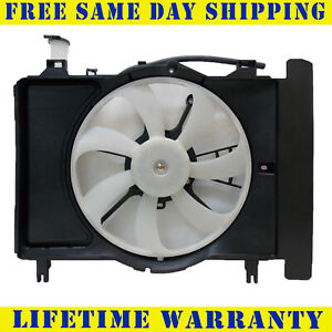 Radiator And Condenser Fan For Toyota Yaris Scion Xd To3115145