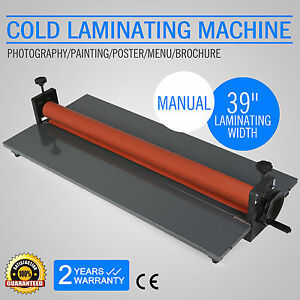 39 Maunal Master Mounting Wide Format Cold Laminator Roll Laminating Machine