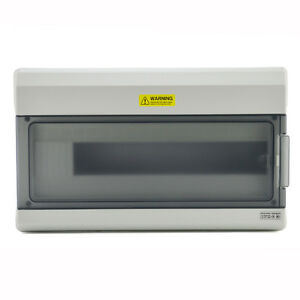 18 Way Ip65 Waterproof Outdoor Electrical Enclosure Plastic Electric Box 1518