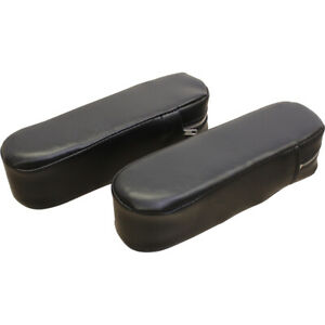 Amih1086arv Armrests Black Vinyl For International 786 886 986 1086 Tractors