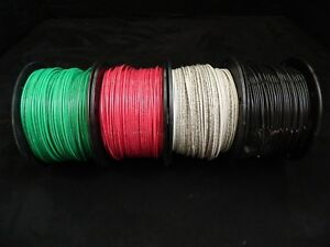 14 Gauge Thhn Wire Solid 4 Colors 100 Ft Each Thwn 600v 90c Building Cable Awg