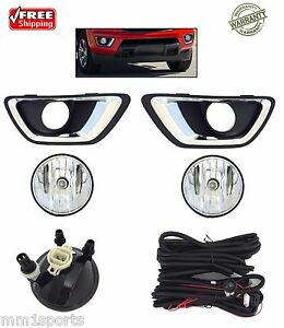 New Fog Lights Kit Lamps For Fits 2015 2020 Chevrolet Colorado Truck 5202 Bulb
