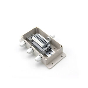 1 In 3 Out Ip65 Waterproof Cable Junction Box Uk2 5b Din Rail Terminal Blocks