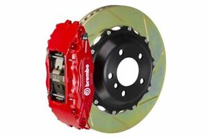 Brembo Gt Brake Kit Front 380mm 2 Pc Slotted 4 Piston Red Fx35 Fx45 2003 2008