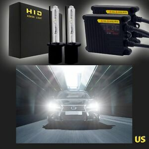 H8 h9 h11 Hid Xenon Headlight Conversion Replacement Kit Slim Ballasts