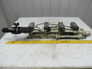 Miller Fluid A77b4 Booster Power Tandem Unit 80 Psi Air To 447 Psi