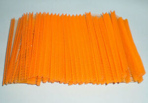 5000 Orange 1 Clothing Garment Price Label Tagging Tagger Gun Barbs Fasterners
