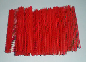5000 Red 2 Clothing Garment Price Label Tagging Tagger Gun Barbs Fasterners